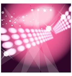 Dance club background vector