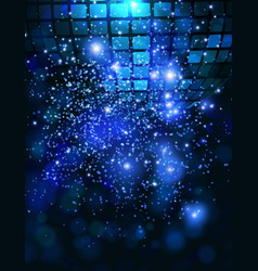 template background with sparkles vector image vector image