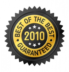 best of the best label vector image vector image
