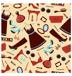 Fashion wallpaper vector image vector image