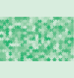 375 green background puzzle jigsaw puzzle banner vector image