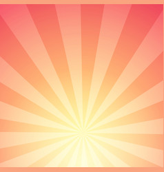 abstract background of sunlight with stripes vector image