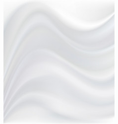 abstract white background with waves vector image