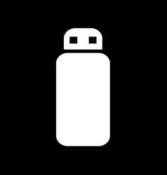 usb memory icon design vector image