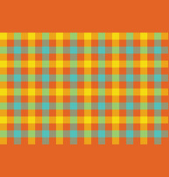 colors check fabric texture background seamless vector image
