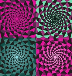 tunnel backgrounds vector image vector image