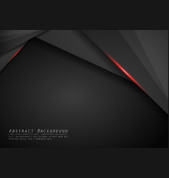 abstract metallic red black frame layout modern vector image