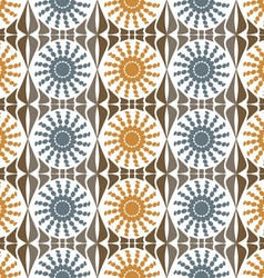 Background abstract flowers pattern vector image