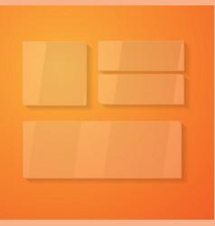 Blank brochure 3d vector