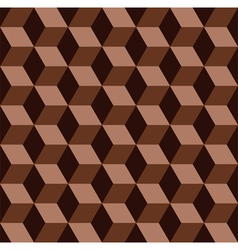 chocolate mosaic pattern vector image