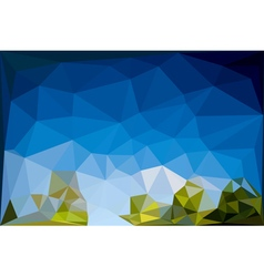 Colorful Geometric Background5 vector image