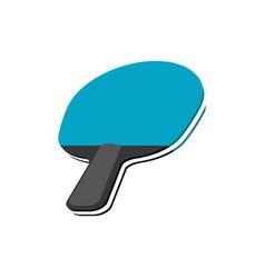 ping pong racket vector image
