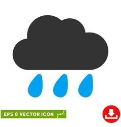 Rain Cloud Eps Icon vector