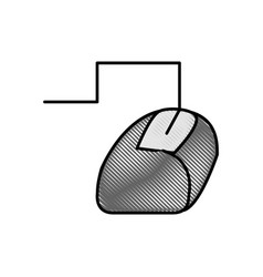 mouse technology object vector image vector image