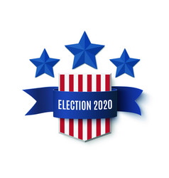 2020 american presedential election background vector