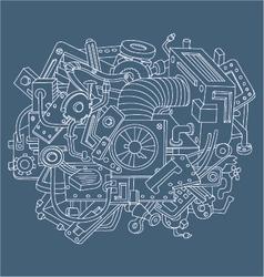 Background technique vector image