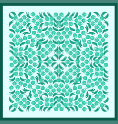 bandana green image vector image