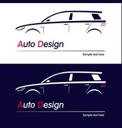 company logo icon element vector image