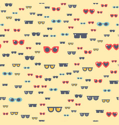 fashion sunglasses accessory eyeglasses vector image