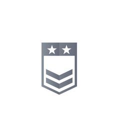Military rank vector