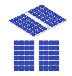 renewable energy solar energy solar panel vector image