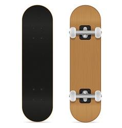 Skateboard 01 vector