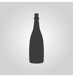 The champagne icon wine symbol flat vector