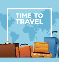 Time to travel vector