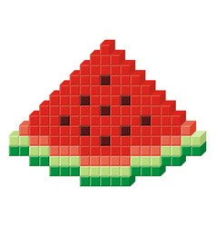 Pixel Art Fruit Vector Images Over 140