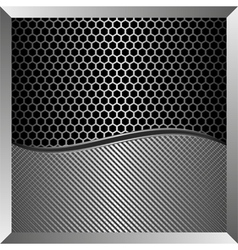 iron background vector image vector image
