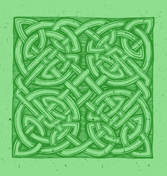 traditional celtic pattern vector image