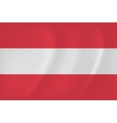 Austria waving flag vector image
