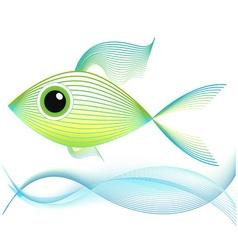 Blend art Fish vector image vector image