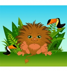 cartoon animal vector image