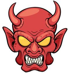 Devil face vector