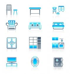 home furniture marine series vector image