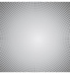 Grey Halftone Pattern vector image vector image