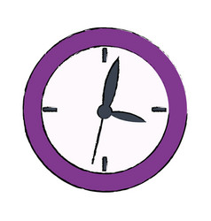 school clock hour time watch icon vector image