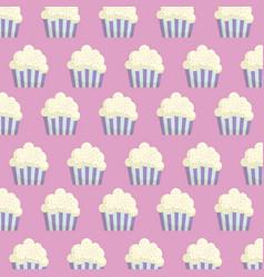 Cupcakes background design vector
