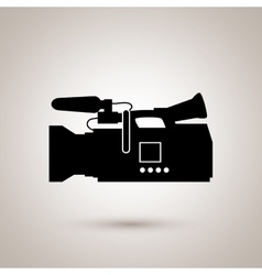 Film industry flat icon design vector