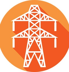Power Line Icon vector image
