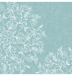 Abstract decoration with ornate ornament vector image