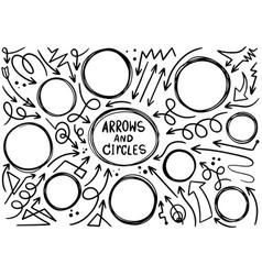 00002 hand drawn doodle design circles elements vector