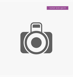camera photo icon simple vector image