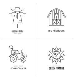 Farming Logotype vector