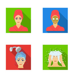 hands hygiene cosmetology and other web icon in vector image