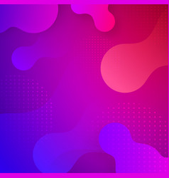 liquid dynamic background vector image