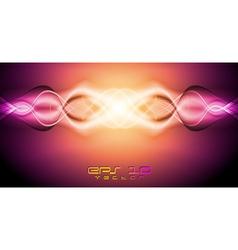 Orange and purple backdrop vector image