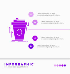 Product promo coffee cup brand marketing vector