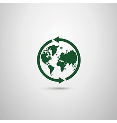 Protection of the Earth eco recovery vector